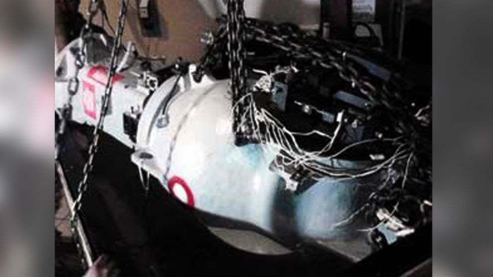 PHOTO: This image released Dec. 4, 2013 by the National Commission on Nuclear Safety and Safeguards of Mexicos Energy Secretary (CNSNS) shows machinery that is part of the cargo of a stolen truck