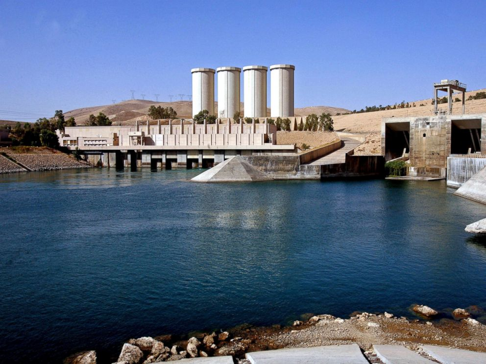 PHOTO: A general view of the dam in Mosul, 360 kilometers (225 miles) northwest of Baghdad, Iraq, Oct. 31, 2007.