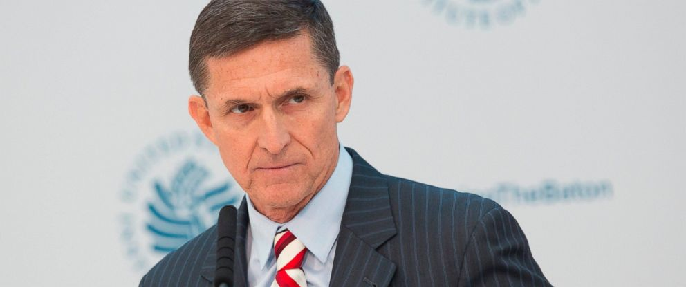 PHOTO: Michael Flynn speaks during a conference in Washington, D.C., Jan. 10, 2017 in this file photo.