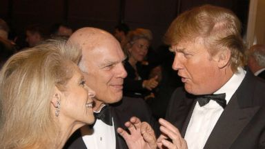 PHOTO: Daryl Roth, Steven Roth and Donald Trump, May 16, 2006 in New York City.