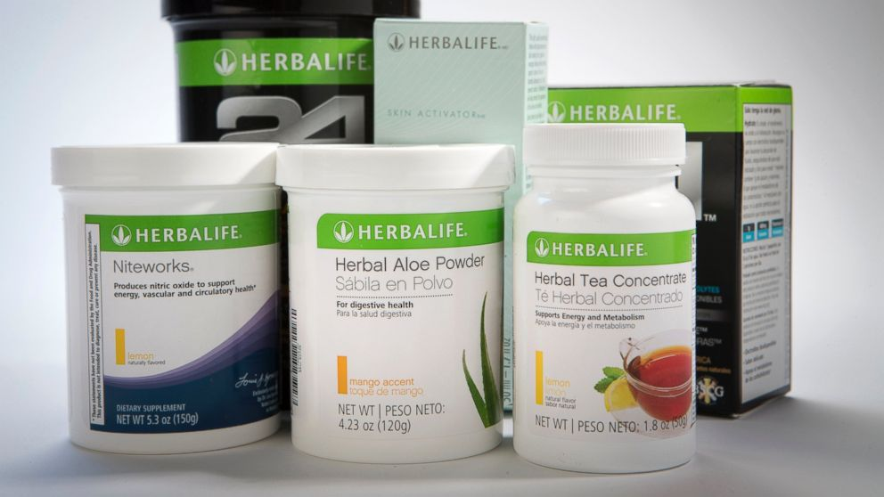PHOTO: Herbalife Ltd. products