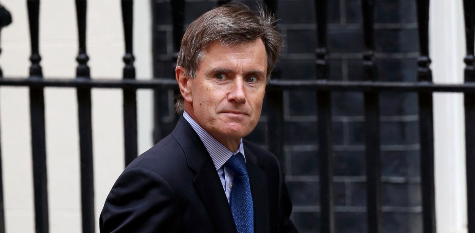 PHOTO: The head of MI6, Sir John Sawers arrives in Downing Street, Aug. 28, 2013, in London.