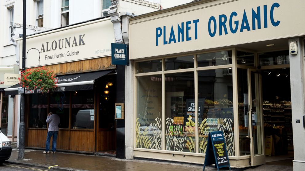 PHOTO: A general view of the Alounak Persian restaurant in Westbourne Grove, west London, on Oct. 14, 2013, where a man was reportedly arrested outside the night before on suspicion of terrorism.