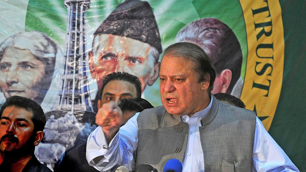 PHOTO: Pakistans incoming Prime Minister Nawaz Sharif
