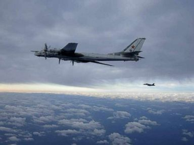 Russian Bombers Buzz California