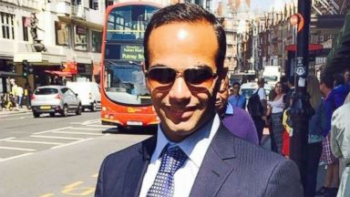 PHOTO: This undated image posted on his Linkedin profile shows George Papadopoulos posing on a street of London.