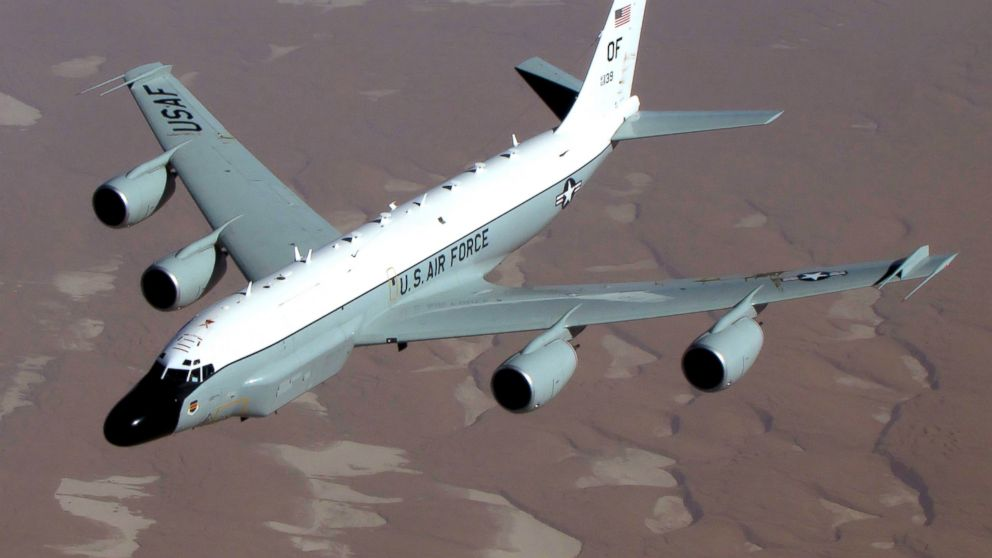 PHOTO: The RC-135V/W Rivet Joint reconnaissance aircraft supports theater and national level consumers with near real time on-scene intelligence collection, analysis and dissemination capabilities.