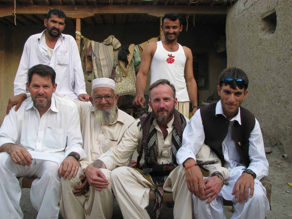 PHOTO: Former Special Forces Maj. Jim Gant, sitting second from the right in this August 2011 photo, became close with the Afghan locals he fought alongside against the Taliban.