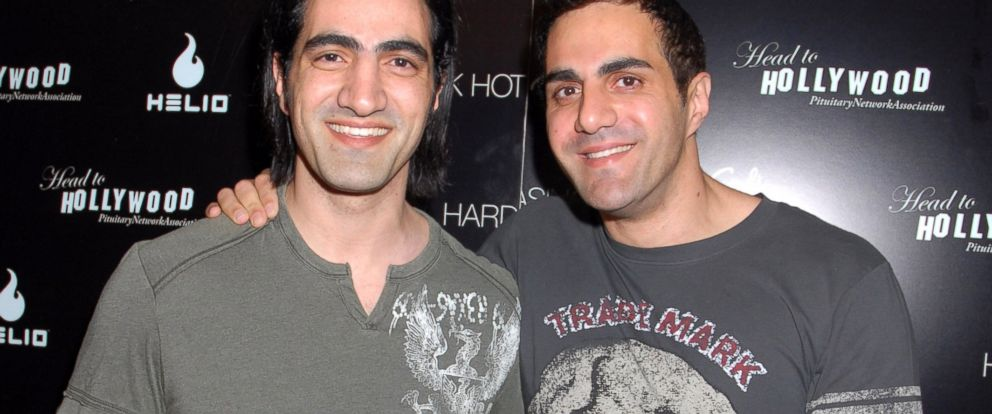 """PHOTO: Dr. Michael Omidi and Julian Omidi attend the """"The Head To Hollywood"""" Celebrity Reception and Carmen Electras Official After Party at Body English at The Hard Rock Hotel and Casino/Body English in Las Vegas, June 3, 2006."""