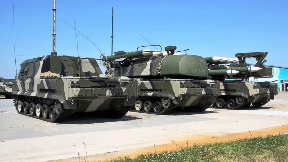 PHOTO: Buk-M1-2 air defence sys