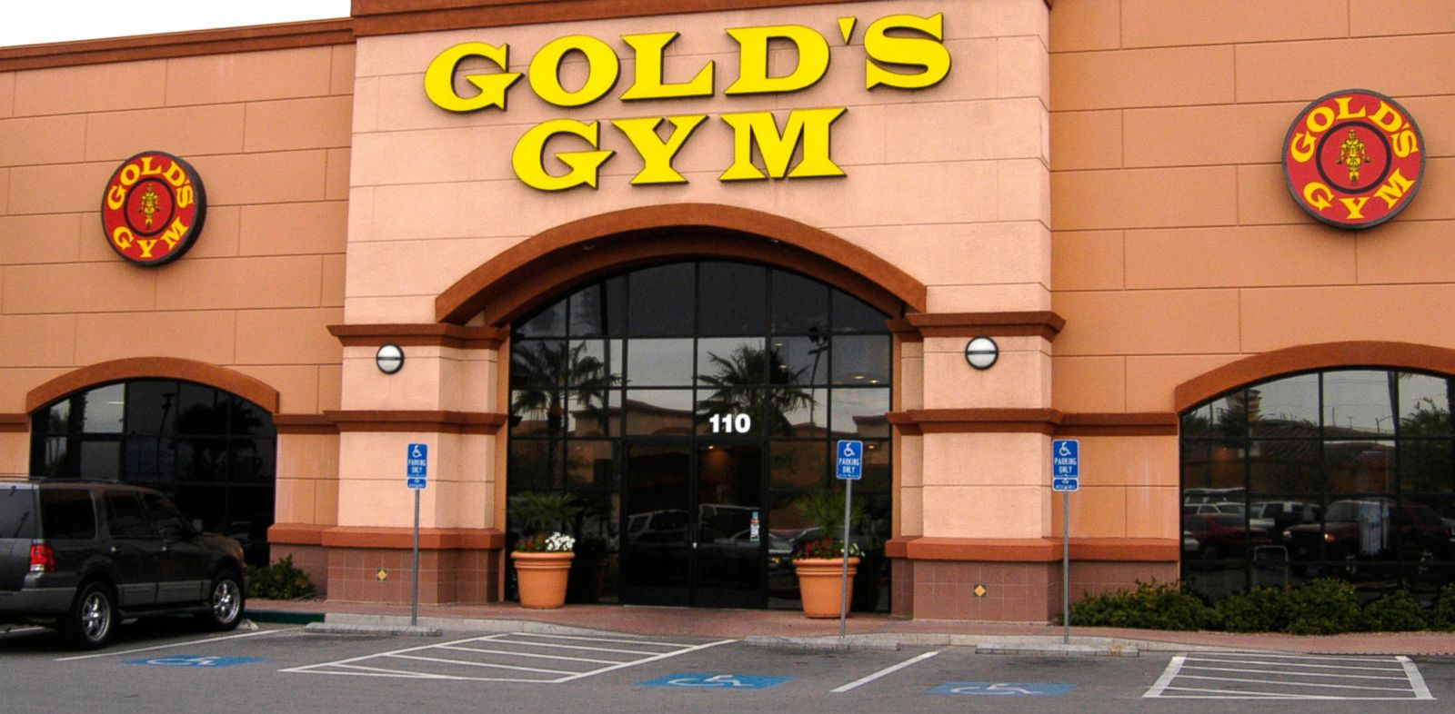 PHOTO: Golds Gym in Las Vegas.
