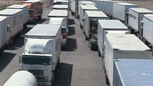 Five percent of trucks coming into the United States from Mexico are inspected