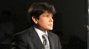 PHOTO Former Illinois Governor Rod Blagojevich sits down with ABC News Chief Investigative Correspondent Brian Ross for an interview August 20, 2010.