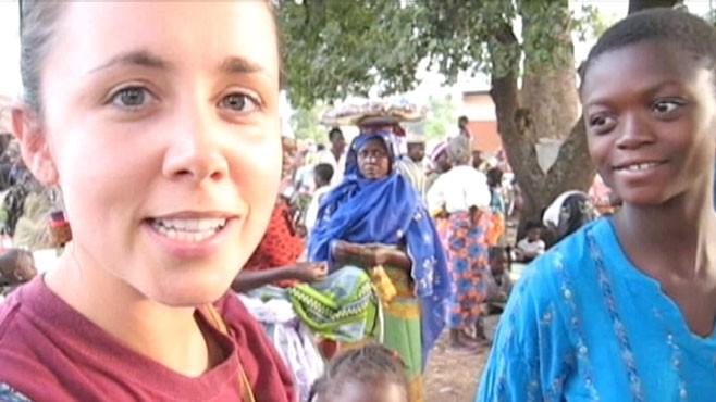 VIDEO: Kate Puzey was killed in Benin, Africa in 2009.