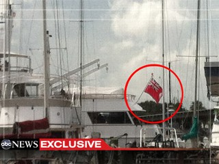 Romney Party Yacht Flies Cayman Islands Flag
