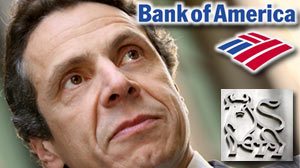 Photo: Cuomo Says BofA Interfering Bonus Investigation: NY AG want bank to reveal wh