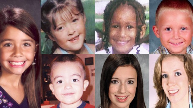 PHOTO:&nbsp;Raven Blanco (far left) was eight when she died shortly after a trip to the dentist.