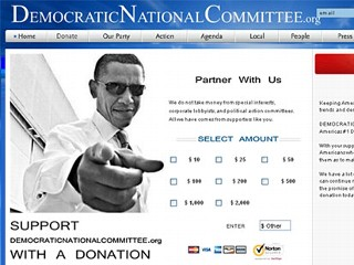 GOP, Dem Donors Misled by Look-Alike Websites