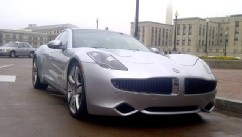 PHOTO: The Fisker Karma, seen in Washington, D.C., on Oct. 19, 2011.