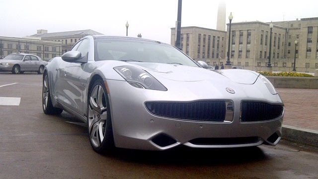 PHOTO:&nbsp;The Fisker Karma, seen in Washington, D.C., on Oct. 19, 2011.