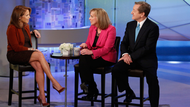 PHOTO: Katie Couric, left, talks with ABC News Chief Investigative Correspondent, Brian Ross and Stephanie Zimmerman about how to avoid being sc