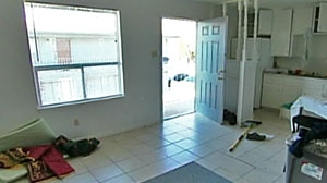Photo: Inside the Home of Nidal Hasan: Apartment manager John Thompson shows us arou