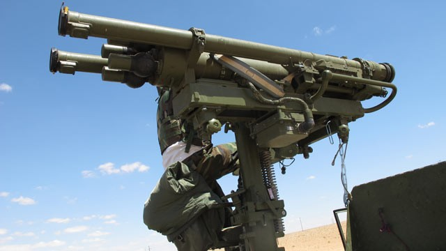 PHOTO: After the fall of Gadhafi's Libya, U.S. officials are concerned about the possible proliferation of thousands of portable surface-to-air missiles stockpiled in the country.