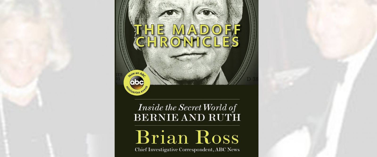 Brian Ross Madoff Chronicles Book cover - ABC News