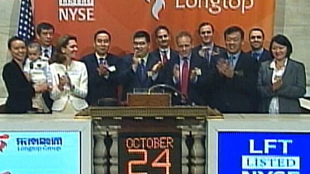 PHOTO:&nbsp;The New York Stock Exchange suspended trading of Longtop Financial last year, one of dozens of Chinese companies accused of fraud.