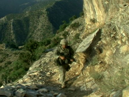 VIDEO: Brian Ross reports from the front lines of the war in Afghanistan in 2008.