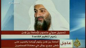 Latest video from Osama Bin Laden