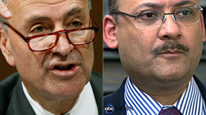 PHOTO Sen. Charles Schumer (D-NY) has called on bank regulators to ?remove? a one-time fugitive and accused money launderer, Saad Shafi from his job as the manager of a Los