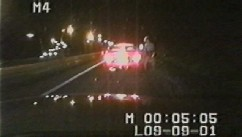 Ziad Jarrah receives a speeding ticket in Maryland as he heads north on I-95.