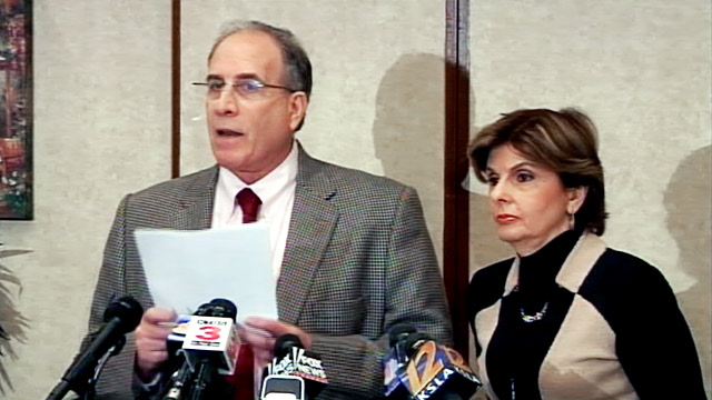 PHOTO: Victor Zuckerman and Gloria Allred