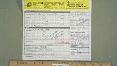 PHOTO:??Attas Western Union money transfer slip.