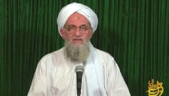 PHOTO: In a new video posted online, al Qaeda leader Ayman al-Zawahiri claims that the Somalia-based terrorist group al Shabaab has joined its ranks.
