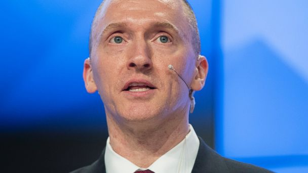 PHOTO: Carter Page, a former foreign policy adviser of U.S. President-elect Donald Trump, speaks ata news conferencein Moscow, Russia, Monday, Dec. 12, 2016.