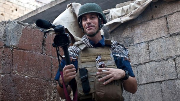 PHOTO: This photo posted on the website freejamesfoley.org shows journalist James Foley in Aleppo, Syria, in November, 2012.