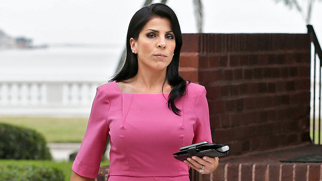 PHOTO: Jill Kelley leaves her home, Nov. 13, 2012 in Tampa, Fla.