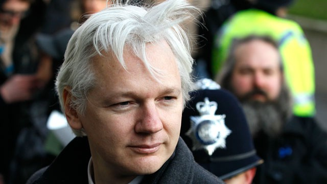 PHOTO: On June 19, 2012, Ecuador's Foreign Minister Ricardo Patino announced in Quito that Julian Assange is seeking asylum at Ecuador's embassy in London, and that Ecuador's government is studying the request.