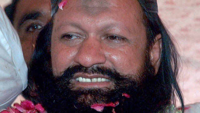 PHOTO: Pakistani police said Malik Ishaq was arrested on government orders in the city of Rahim Yar Khan.