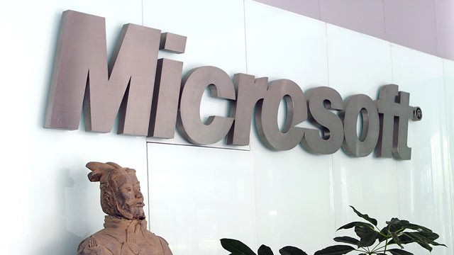 PHOTO: A &quot;super bug&quot; compromised a key Microsoft security system.