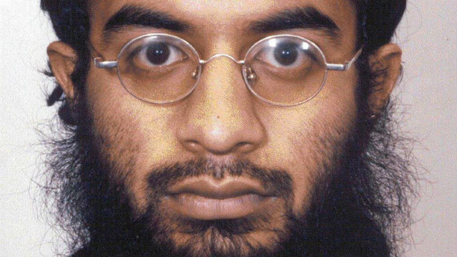PHOTO: Saajid Muhammad Badat shoe bomber is seen in this undated booking photo.