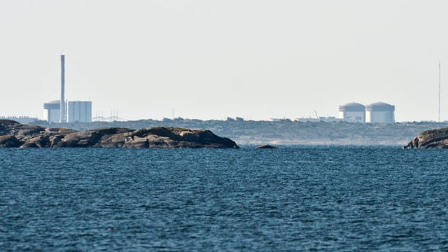 PHOTO: The Ringhals atomic power station near Varberg Sweden seen in the distant, June 21, 2012.