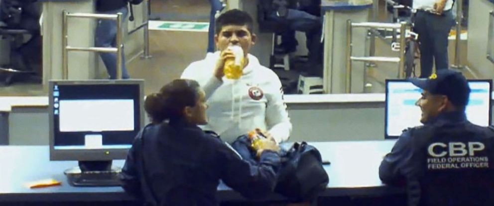 PHOTO: Cruz Velazquez, 16, took four sips of what tests would later reveal to be concentrated liquid methamphetamine.