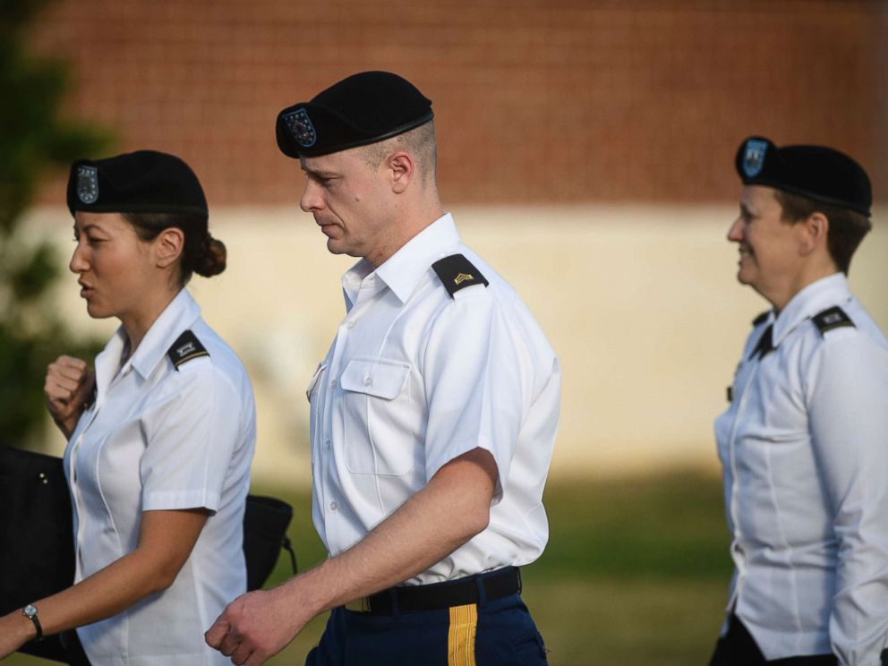 Army Sgt. Bowe Bergdahl pleads guilty to desertion, misbehavior before enemy