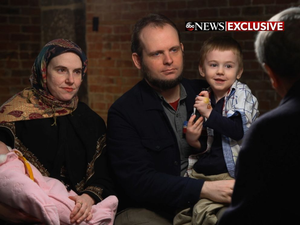 PHOTO: The family sat down with ABC News Chief Investigative Correspondent Brian Ross in their first television interview since being freed from the Taliban.