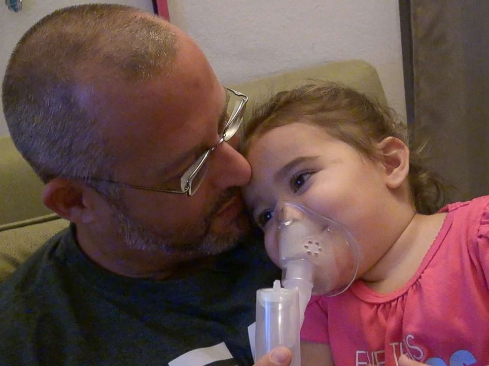 PHOTO: In a lawsuit, Bruce Nicholson (pictured) and Lisa Daspit allege their infant daughter, Brielle (pictured), developed persistent asthma as a result of toxic mold their landlord failed to remedy.