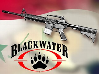 A machine gun sent to Iraq by Blackwater was discovered during a US military operation against suspected insurgents, according to documents obtained by ABC News. (ABC News Photo Illustration)