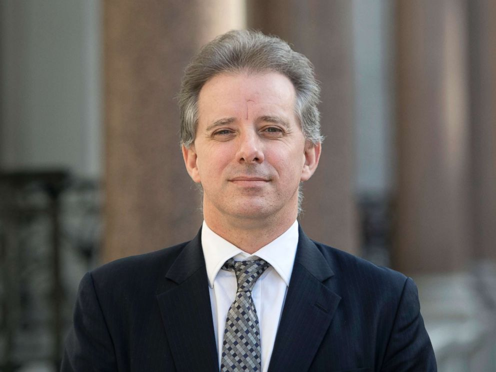 PHOTO: Christopher Steele, the former MI6 agent who set-up Orbis Business Intelligence and compiled a dossier on Donald Trump, in London where he has spoken to the media for the first time, March 7, 2017.